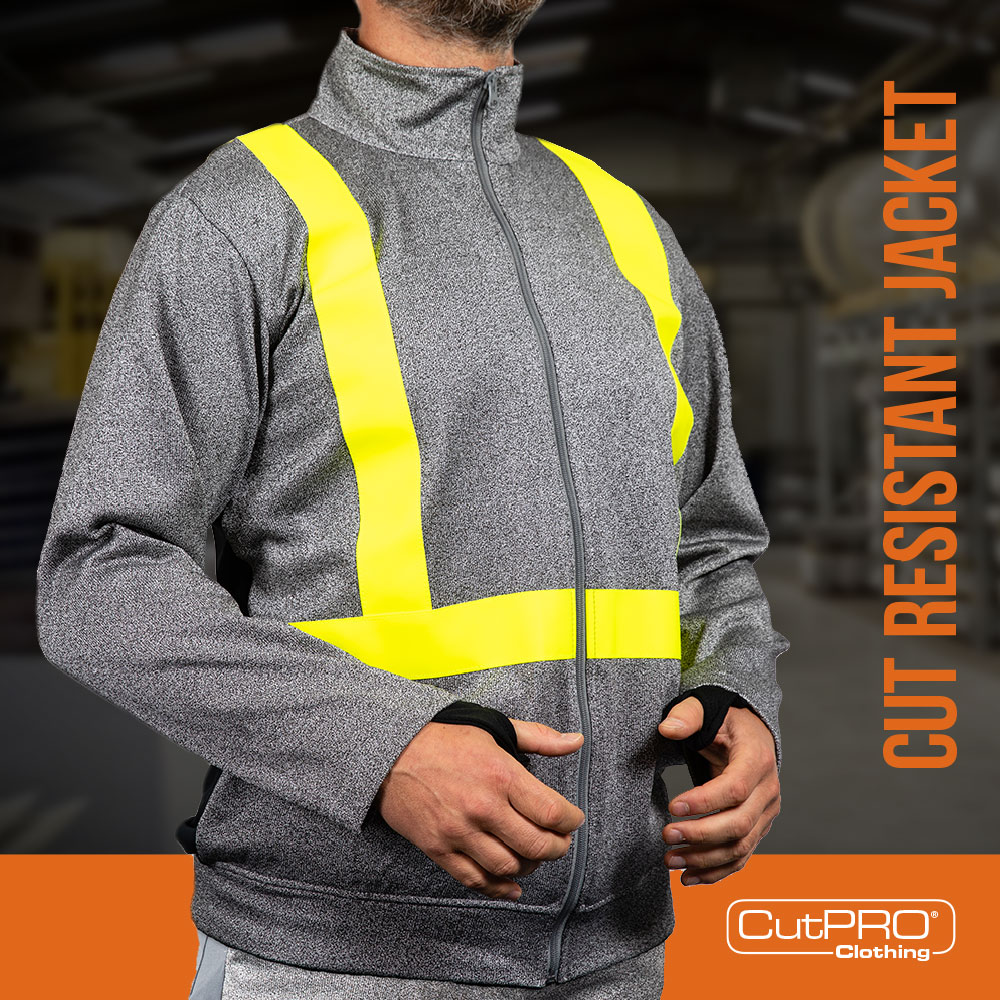 CutPRO Cut Resistant Clothing Workwear PPE glass metal protection