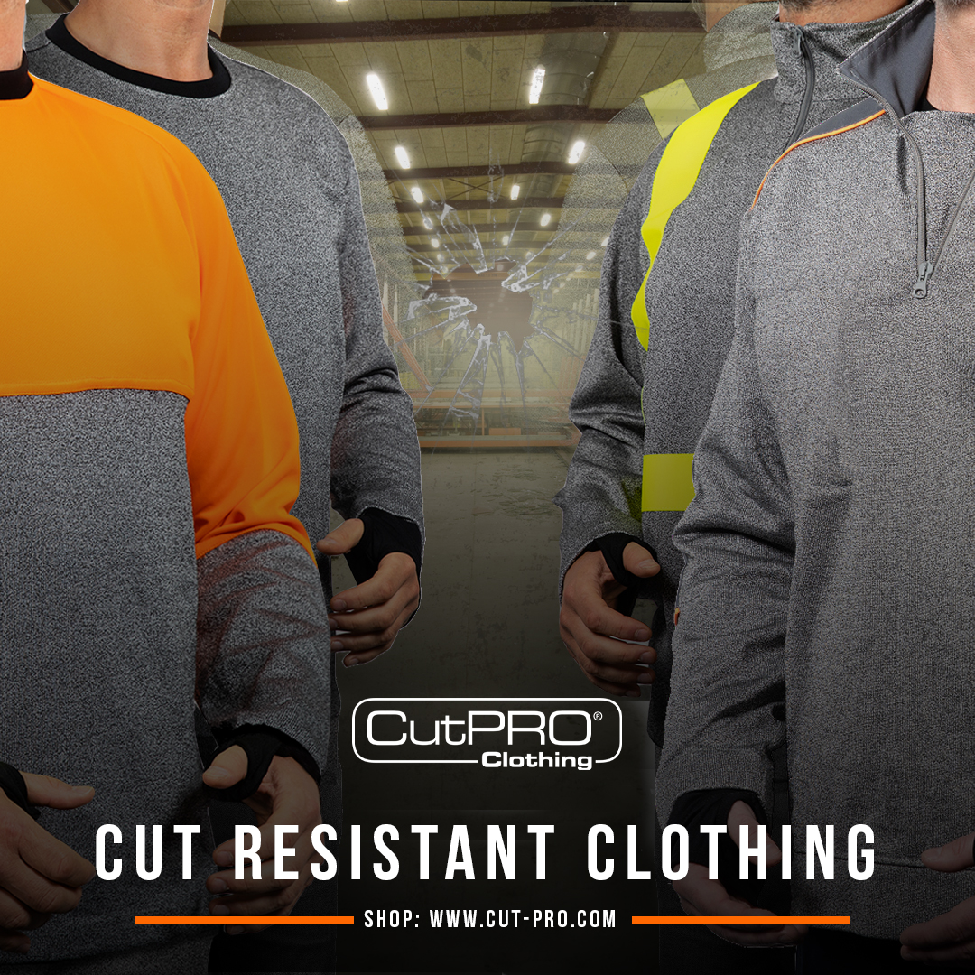 CutPRO cut resistant clothing PPE
