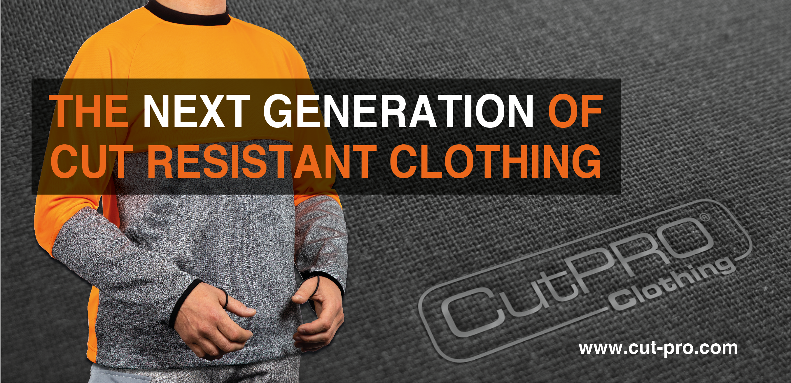 CutPRO cut resistant clothing cut protection for glass workers