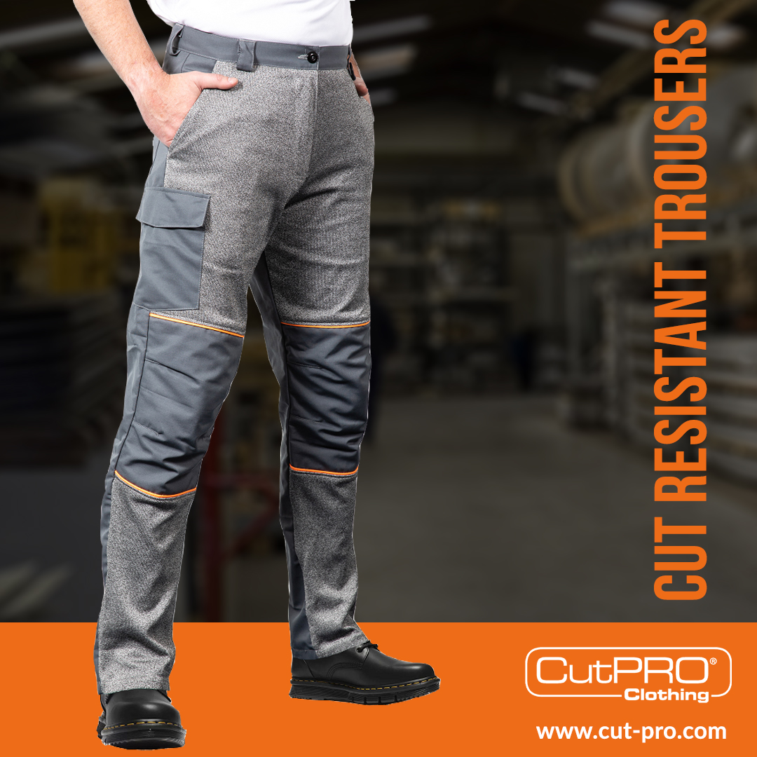 CutPRO cut resistant clothing workwear PPE trousers