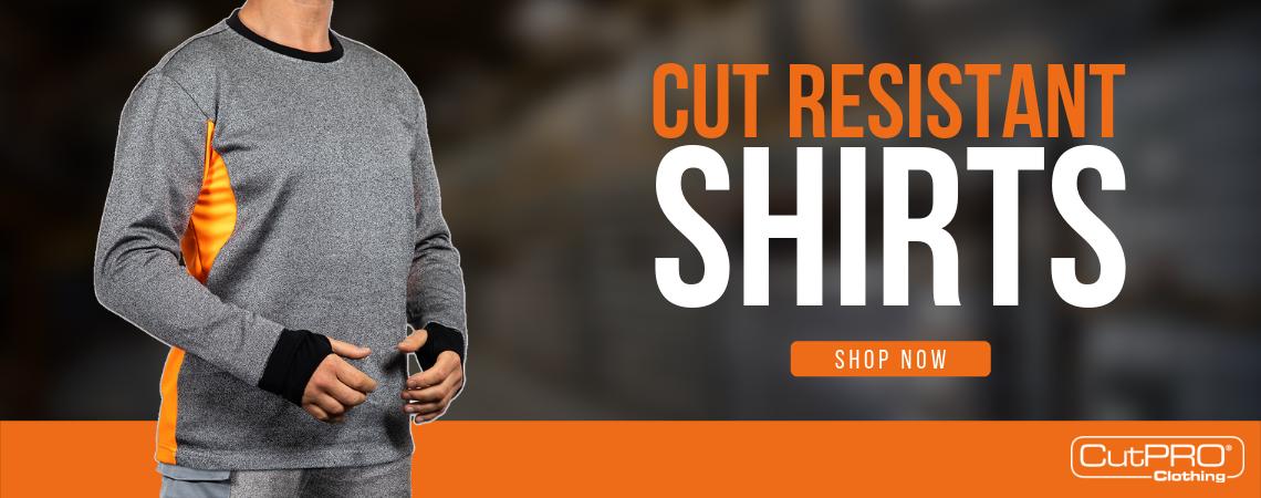 Cut Resistant Shirts Banner