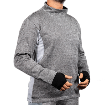 CutPRO Cut Resistant Clothing Turtleneck Sweatshirt