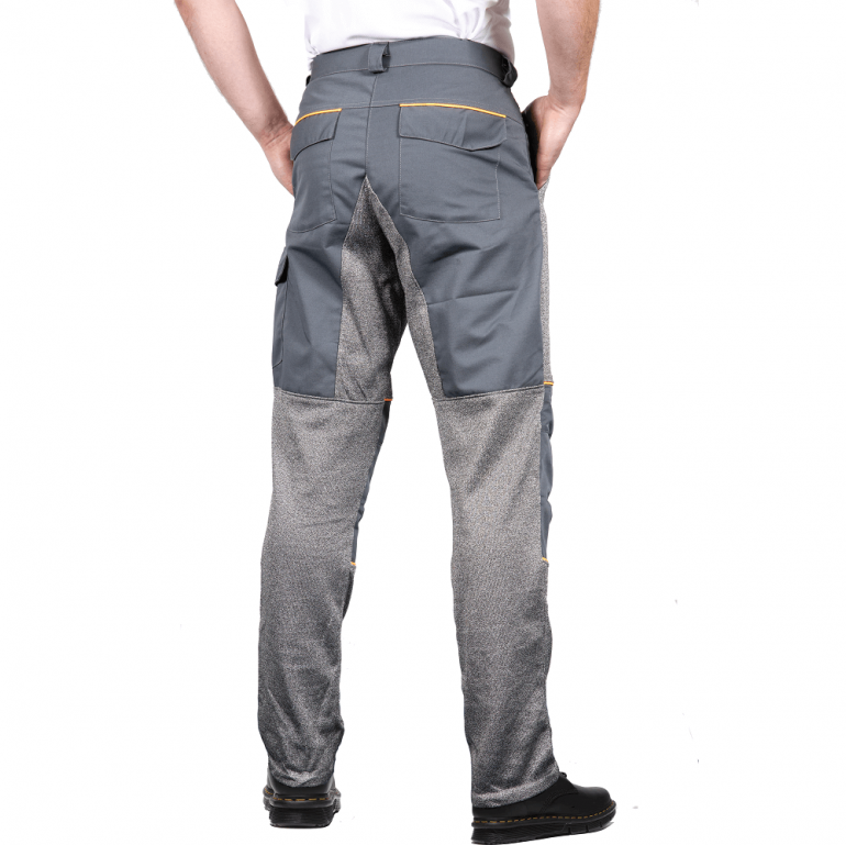 Trousers with Front and Back Protection rear
