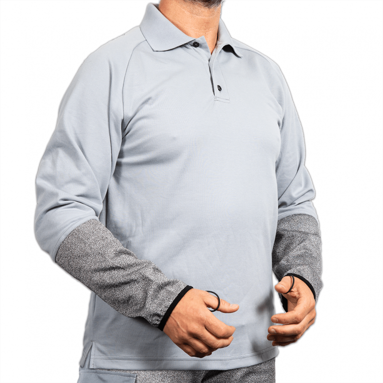 Cut Resistant Polo Shirt without Belly Patch