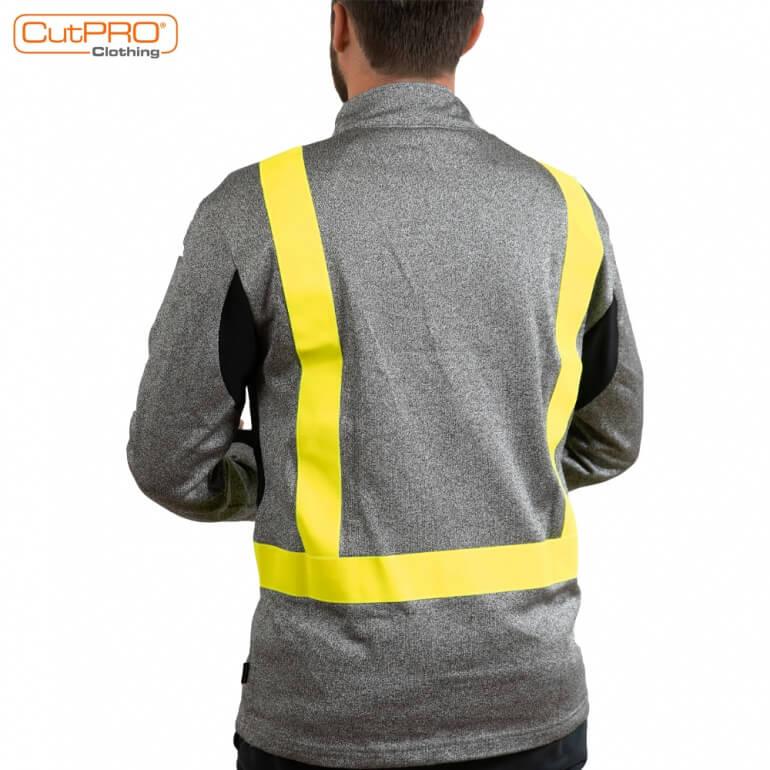 Cut Resistant Clothing - Sweatshirt back