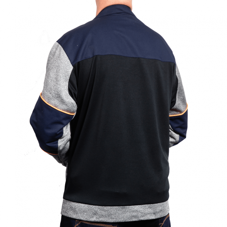 Cut Resistant Pullover Top - Workwear Collar rear