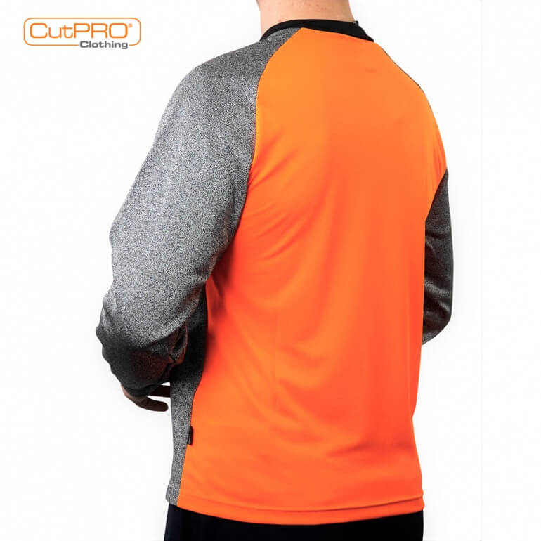 Crew Neck Top with Full Armguard & Belly Patch