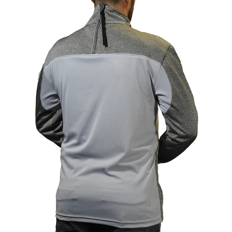 CutPRO® Turtleneck Top with Rear Zip, Thumbhole & Breathable Back