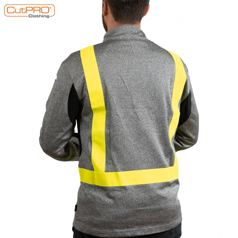 Cut Resistant Clothing - Sweatshirt back