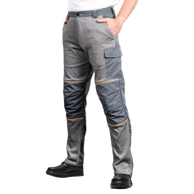 Trousers with Front Protection