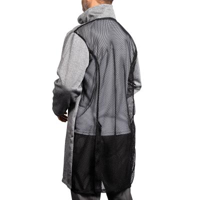 Cut Resistant Lab coat rear