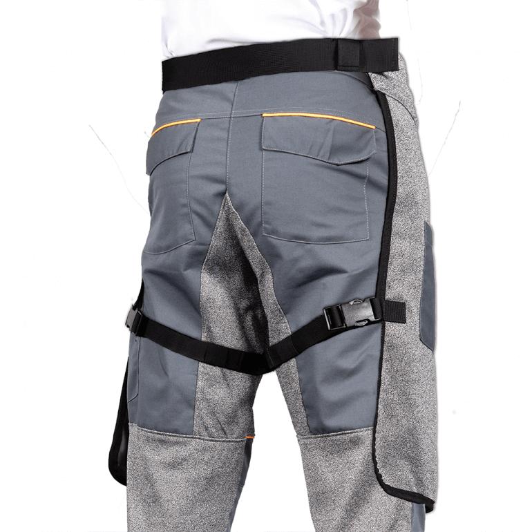 Cut Resistant Apron Split rear