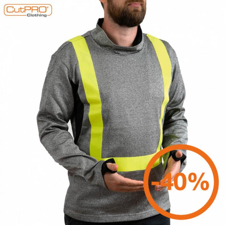 Cut Resistant Clothing - Sweatshirt