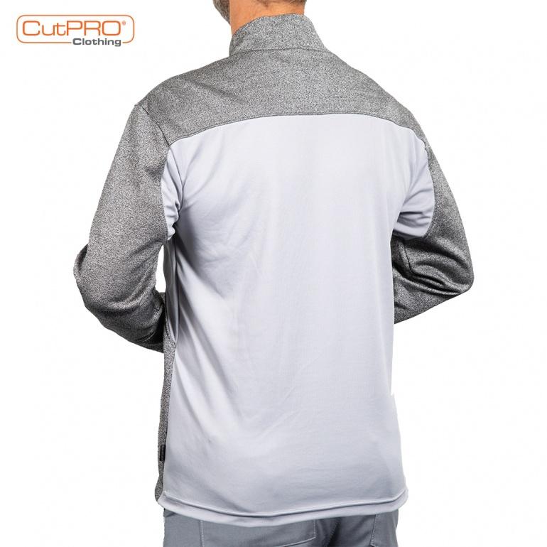 Cut Resistant Sweatshirt with Turtleneck