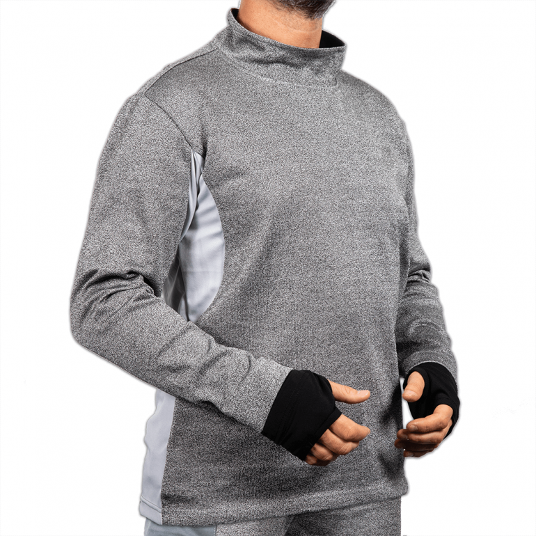 Sweatshirt with Turtle Neck