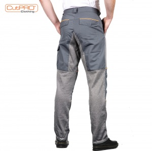 Cut Resistant Trousers with Front and Back Protection rear
