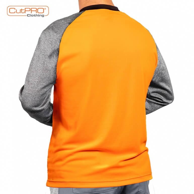 Cut Resistant Armguard Shirt - Crew Neck rear