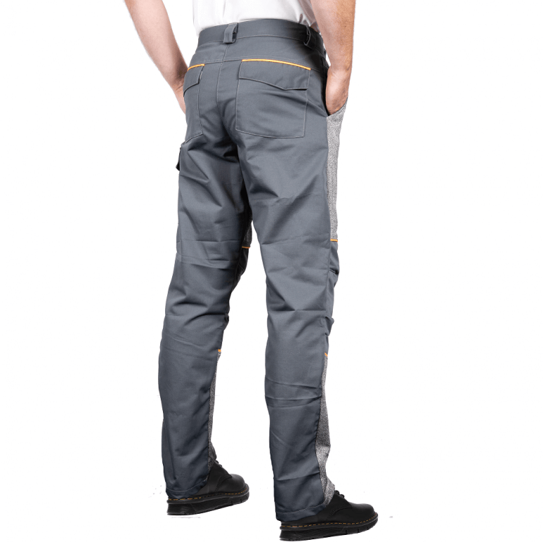 Cut Resistant Trousers with Front Protection rear
