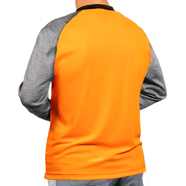 Cut Resistant Armguard Shirt - Crew Neck rear