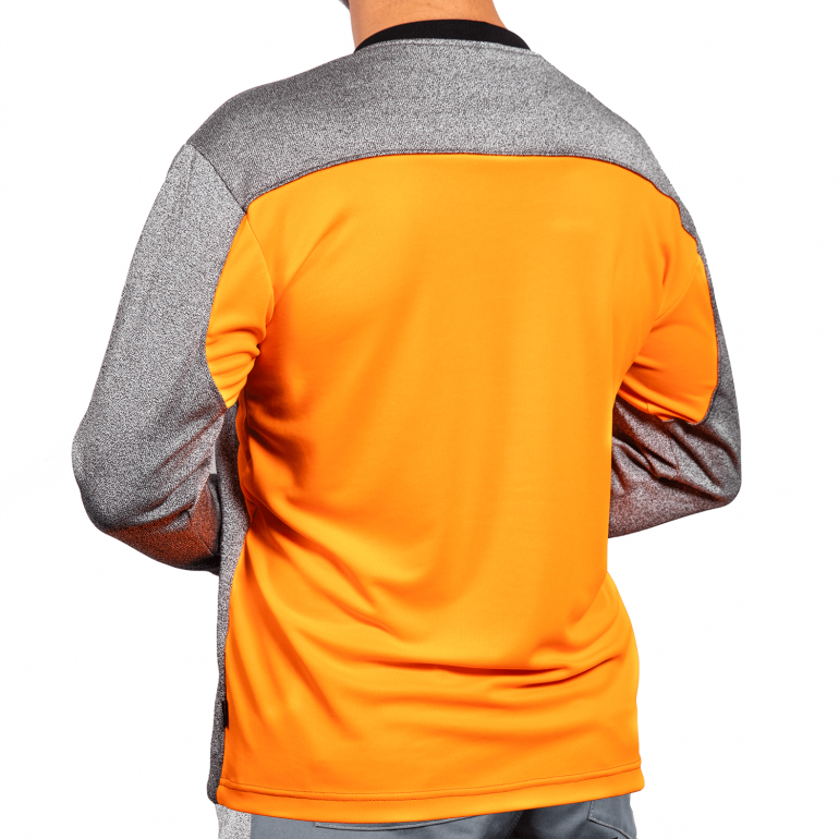Cut Resistant Sweatshirts with Crew Neck rear