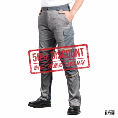 Cut Resistant Trousers with Front Protection