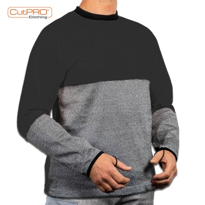 Crew Neck and Belly Patch