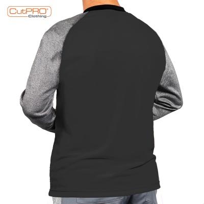Back Black CutPRO Crew Neck Shirt