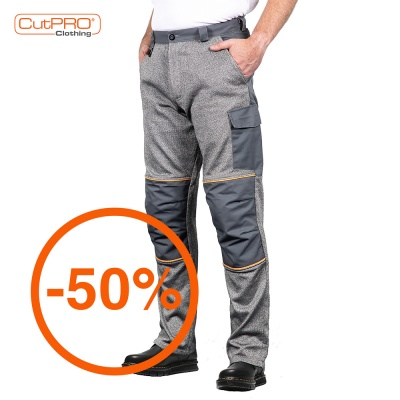 Cut Resistant Trousers with Front and Back Protection
