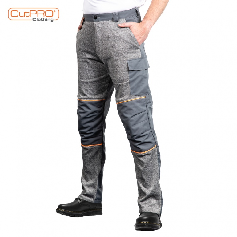 Cut Resistant Trousers - with Front Protection and Adjustable Leg | CutPRO®